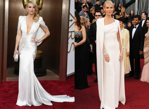Kate Hudson Gwyneth Paltrow Did The Oscars Gowns Look Familiar Check Out These Dress Doppelgangers Oscars