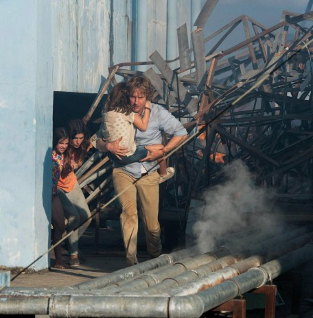 Still Of Owen Wilson Lake Bell Sterling Jerins And Claire Geare In No Escape
