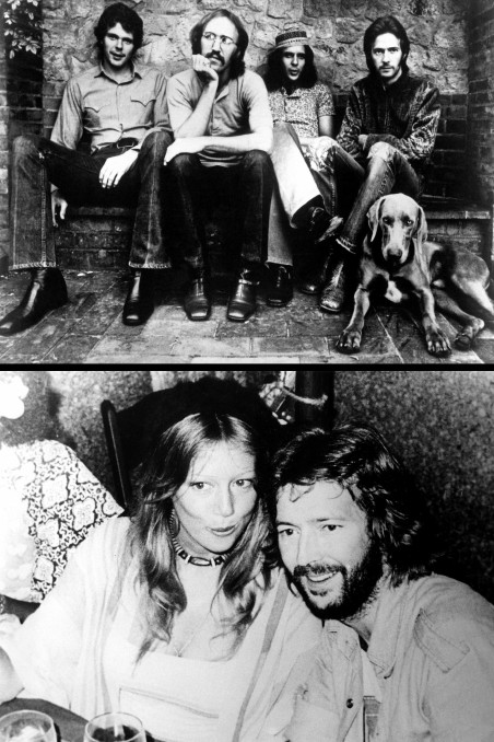 Eric Clapton Birthday Pattie Boyd Derek Dominoes Eric Clapton