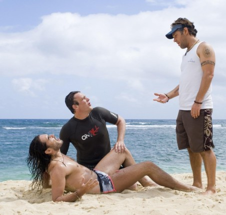 Still Of Paul Rudd Jason Segel And Russell Brand In Forgetting Sarah Marshall Body