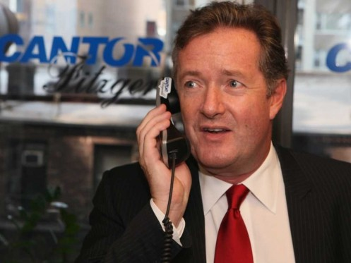 Piers Morgan Phone Young