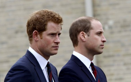 Prince William Prince Harry September Anniversary Ftr And William
