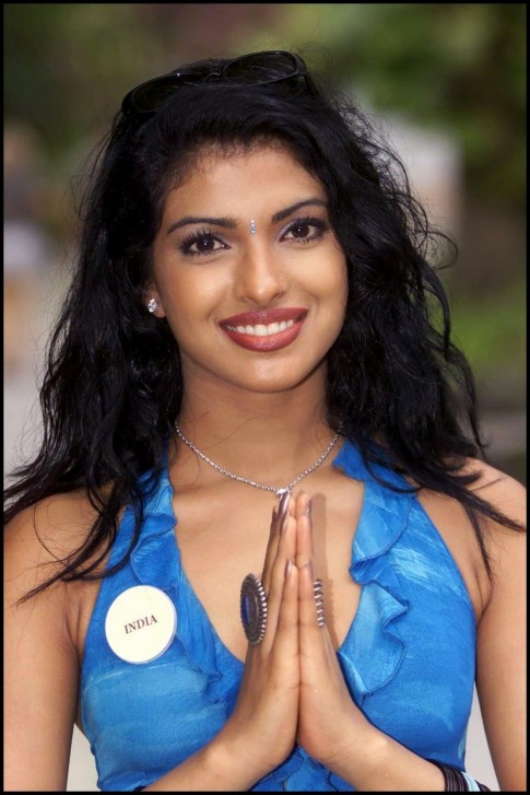 Priyanka Chopra Miss World Contestent Picture Miss World
