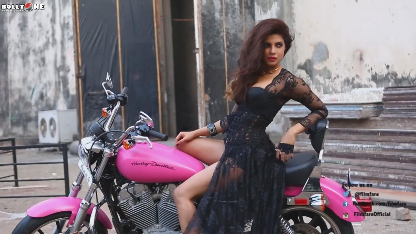 Priyanka Chopra Unseen Pics From Filmfare Magazine Shoot
