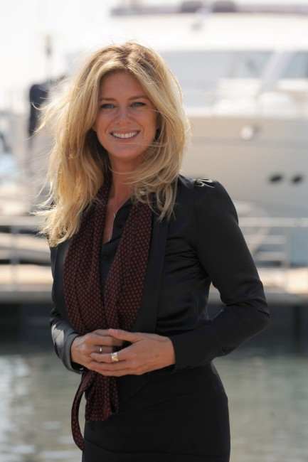 Rachel Hunter Arrives To Photocall For Rachel Tour Of Beauty In Cannes Robbie