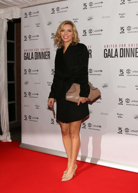 Rachel Riley United For Unicef Gala Dinner