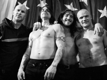 Red Hot Chili Peppers Photo Shoot Wallpaper