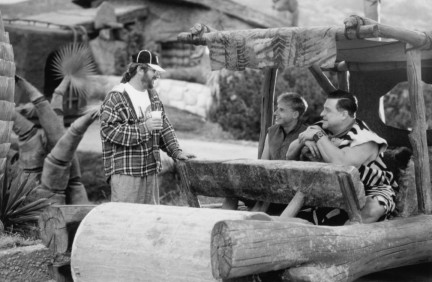 Still Of John Goodman Rick Moranis And Brian Levant In The Flintstones Large Picture