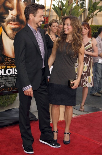 Robert Downey Jr And Wife Susa Wife