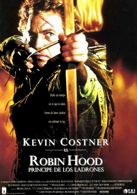 Full Robin Hood Prince Of Thieves Poster