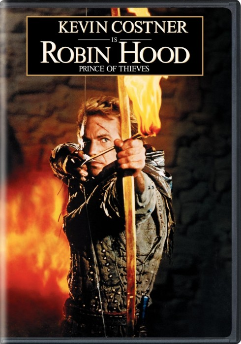 Robin Hood Prince Of Thieves Dvd Cover Movie