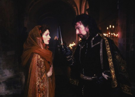 Still Of Alan Rickman And Mary Elizabeth Mastrantonio In Robin Hood Prince Of Thieves Large Picture Movie