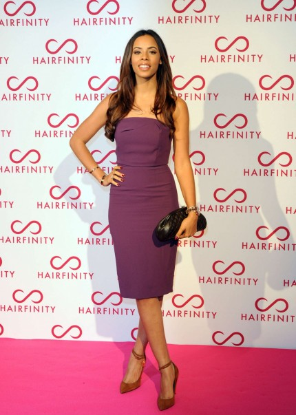 Rochelle Humes Hairfinity Launch Party Hair