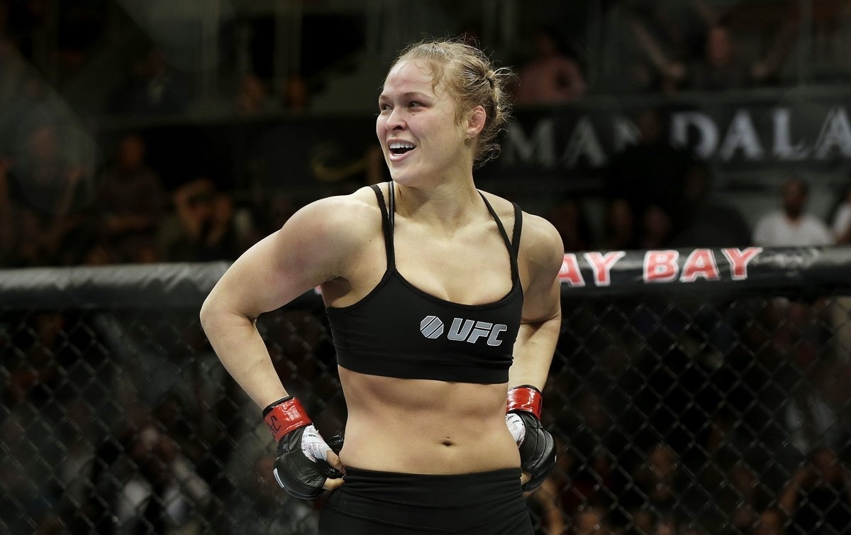 How Mma Fighter Ronda Rousey Afb Ae