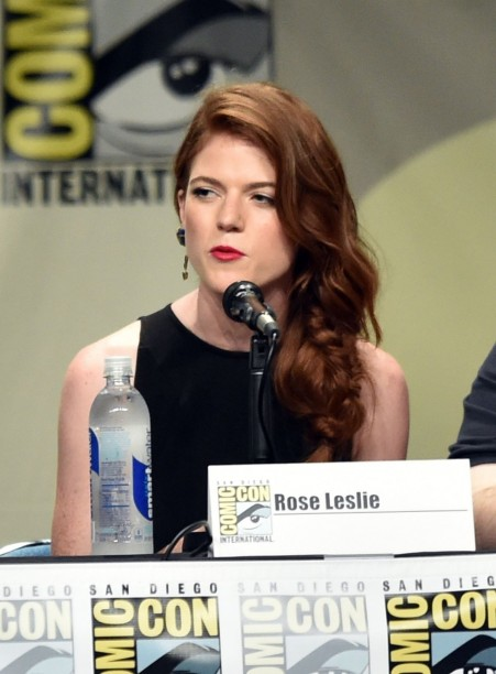 Rose Leslie Presenting At Game Of Thrones Panel At Comic Con
