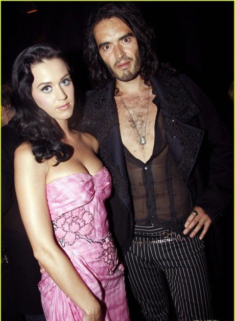 Katy Perry Russell Brand Couple Up John Galliano Jemima Khan