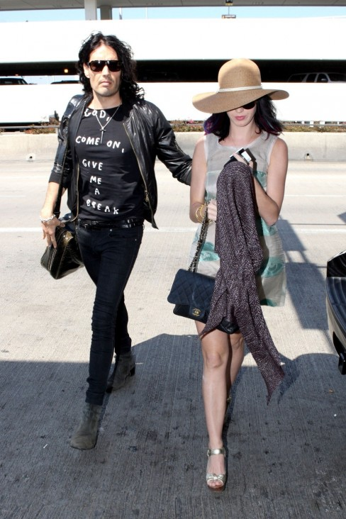 Russell Brand And Katy Perry Young