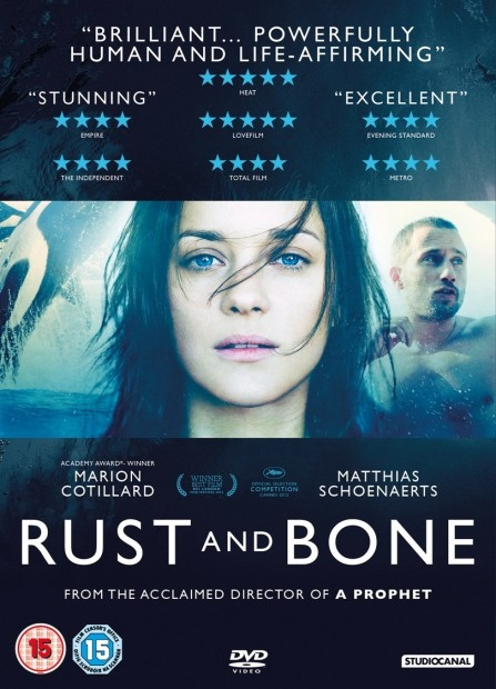 Rust And Bone Poster Dvd