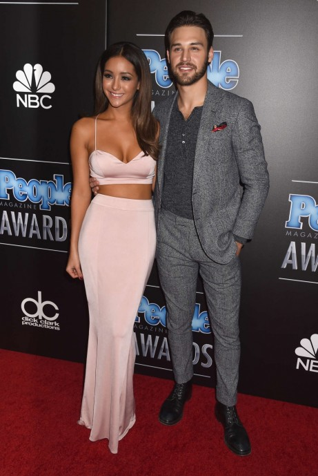 On The Scene People Magazine Awards In Beverly Hills Melanie Iglesias Ryan Guzman And Ashley Tisdale