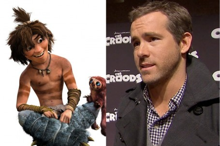 Ryan Reynolds As Guy In The Croods Movies