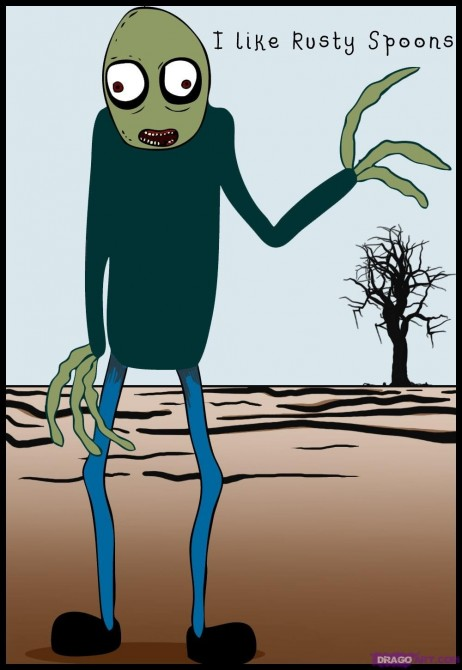 How To Draw Salad Fingers
