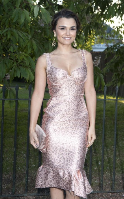 Samantha Barks At Serpentine Gallery Summer Party In London Beach