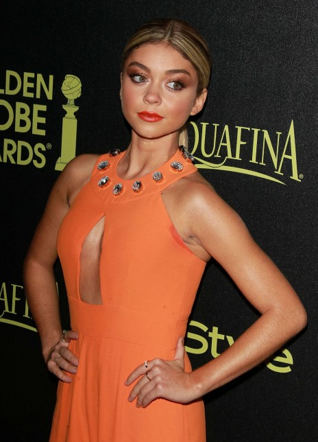 Sarah Hyland Golden Globe Award Season