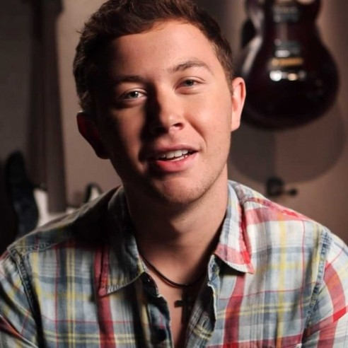 Scotty Mccreery Shared Picture Unknown