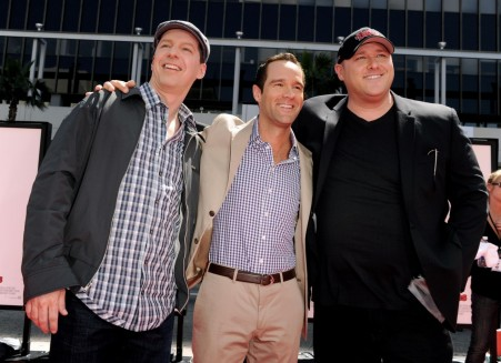 Sean Hayes Chris Diamantopoulos And Will Sasso At Event Of De Tre Rfinkarna Large Picture Will Sasso