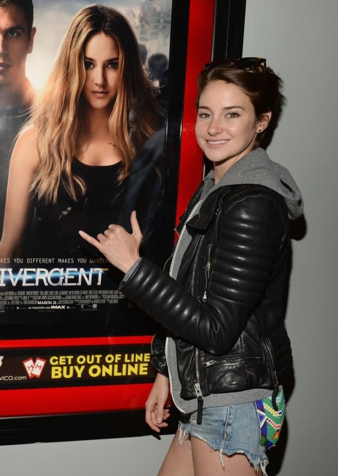 Shailene Woodley At Divergent Private Screening In Thousand Oaks Divergent