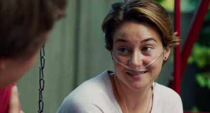 Shailene Woodley In The Fault In Our Stars Movie The Fault In Our Stars