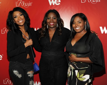 Brandy Kim Kimble And Shar Jackson At We Tvs La Hair Season Premiere Party