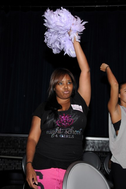Shar Jackson Learns Sultry Moves During Class At Night School Girls