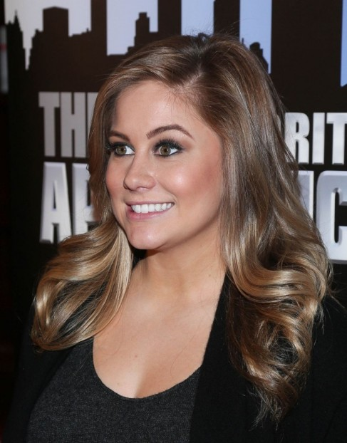 Shawn Johnson Attend The Celebrity Apprentice Red Carpet Event In New York City