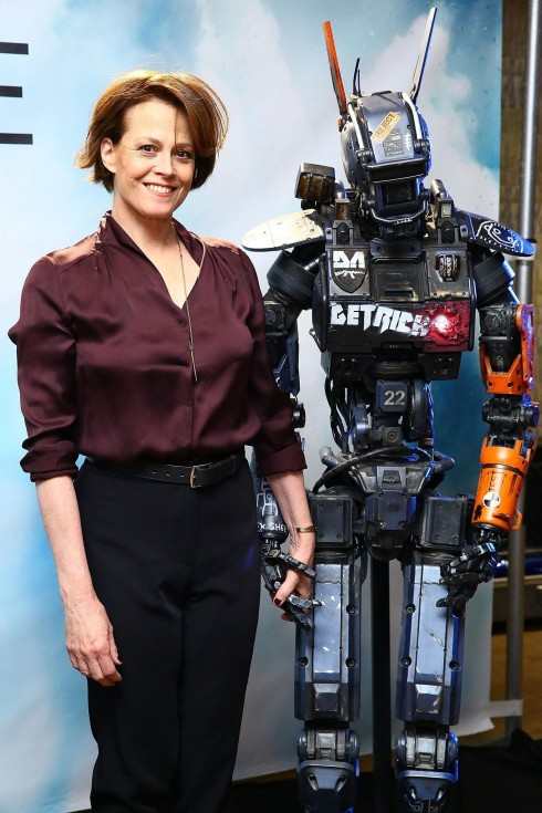 Sigourney Weaver At Event Of Chappie