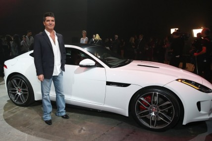 Jag Ftype Coup La Post Reveal Image Simon Cowell House