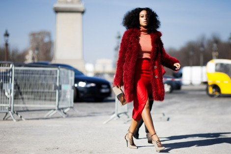 Shotbygio George Angelis Solange Knowles Paris Fashion Week Fall Winter Street Style