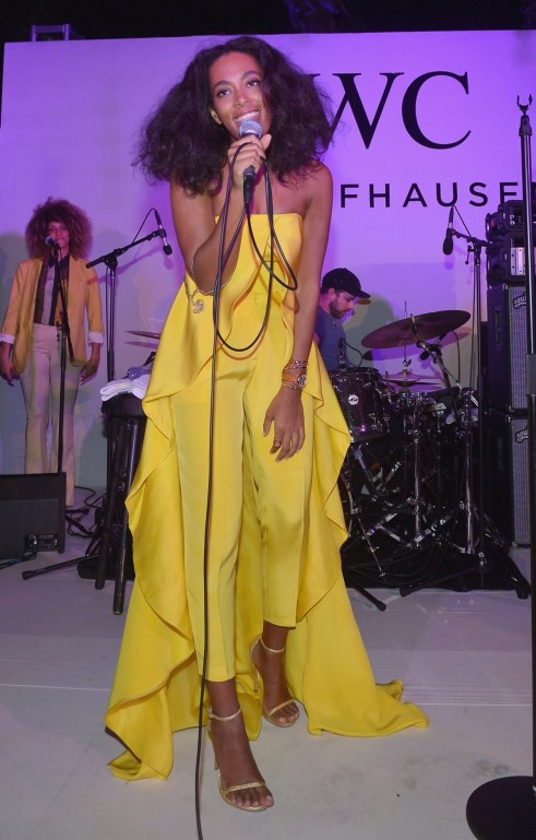 Solange Knowles Performed At The Event Which Took Place At The Hotel In South Beach Beach