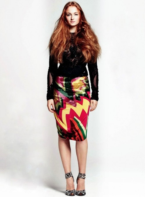 Sophie Turner Us Glamour Magazine Sep Sophie Turner