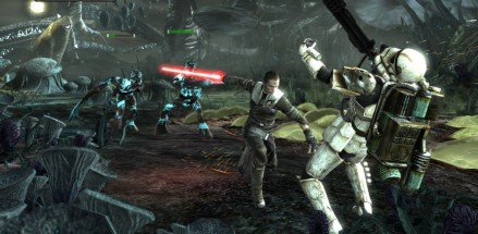 Star Wars: The Force Unleashed Shared Image Spain