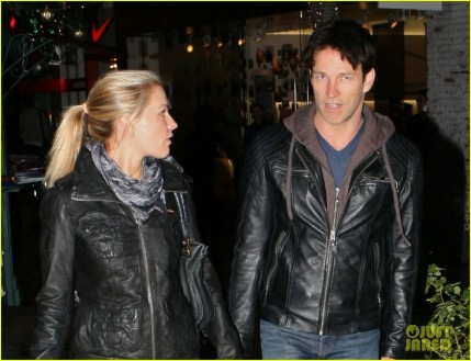 Exclusive Anna Paquin And Stephen Moyer At The Grove In West Hollywood Ca