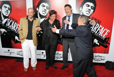 Al Pacino Murray Abraham And Steven Bauer At Event Of Scarface Scarface