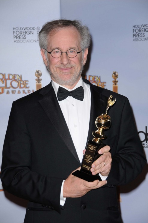Steven And George Steven Spielberg At The Golden Globes
