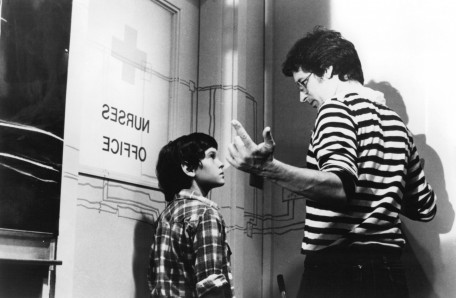 Still Of Steven Spielberg And Henry Thomas In Et The Extra Terrestrial