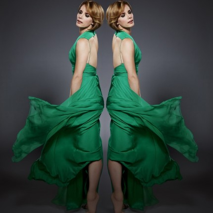 Darcey Bussell Green Dress New Short Hair Bob Hairstyle Silvrikin Heat Styling Hair Range Strictly Come Dancing Judge Judges