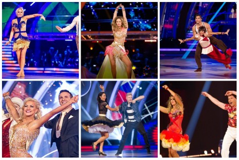 Strictly Come Dancing At Wembley Dresses