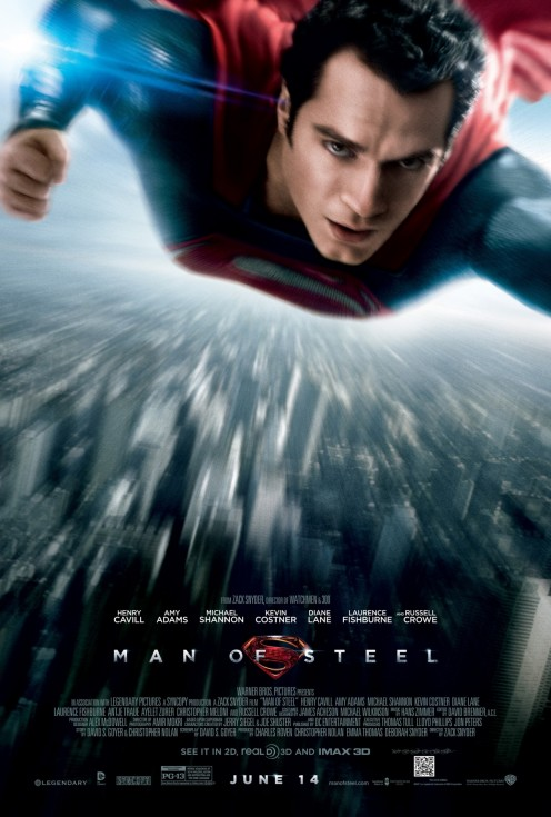 Man Of Steel High Res Movie Poster Henry Cavill Movie
