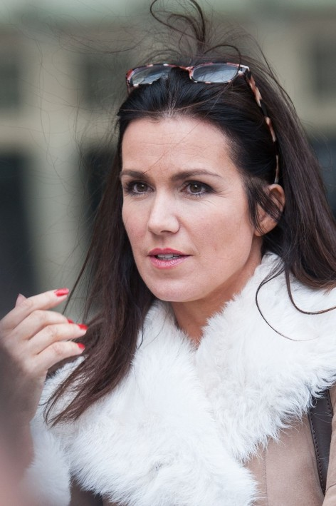 Susanna Reid Leave The Bbc Studios In London
