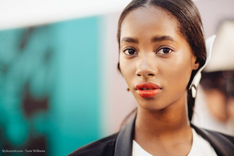 Paris Ss Andrew Gn Backstage Tami Williams