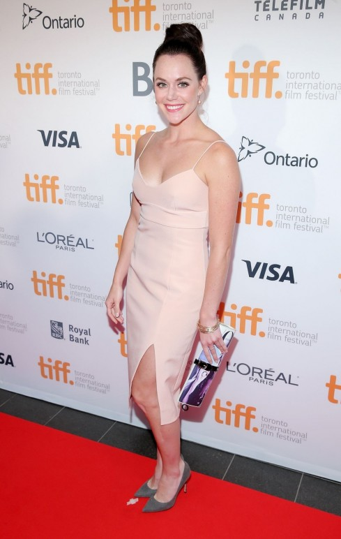 Tessa Virtue At Tiff Gala Beach